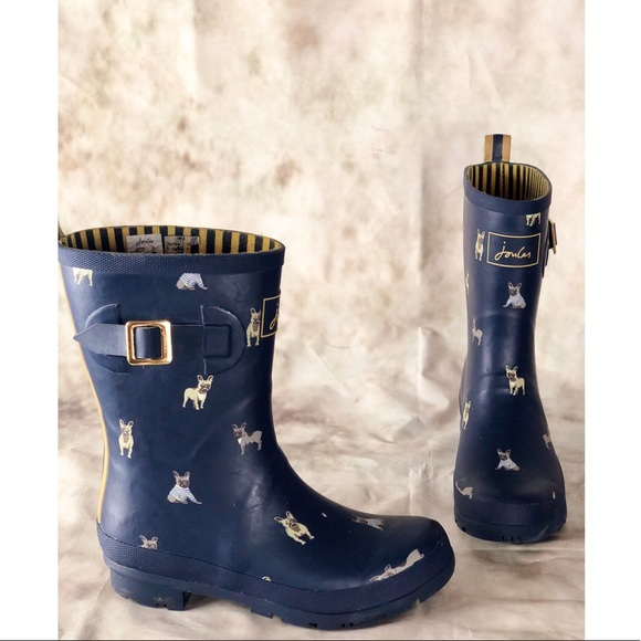 joules shoes | dog print wellington rain bootswellies | poshmark